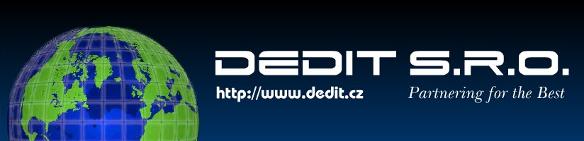 Dedit s.r.o. - Partnering for the Best!